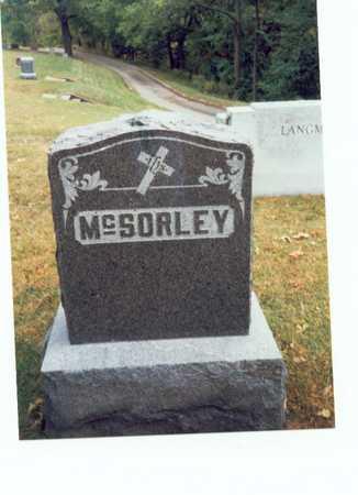 MCSORLEY, FAMILY MARKER - Pottawattamie County, Iowa | FAMILY MARKER MCSORLEY