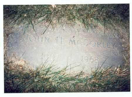 MCSORLEY, JOHN HAROLD - Pottawattamie County, Iowa | JOHN HAROLD MCSORLEY