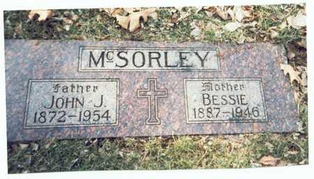 MCSORLEY, BESSIE - Pottawattamie County, Iowa | BESSIE MCSORLEY
