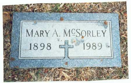 MCSORLEY, MARY A. - Pottawattamie County, Iowa | MARY A. MCSORLEY