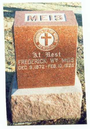 MEIS, FREDERICK WILLIAM - Pottawattamie County, Iowa   FREDERICK WILLIAM MEIS