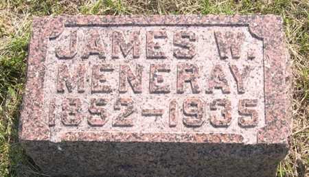 MENERAY, JAMES W - Pottawattamie County, Iowa | JAMES W MENERAY