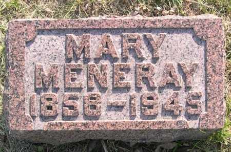 MENERAY, MARY - Pottawattamie County, Iowa   MARY MENERAY