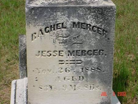 MERCER, RACHEL - Pottawattamie County, Iowa | RACHEL MERCER