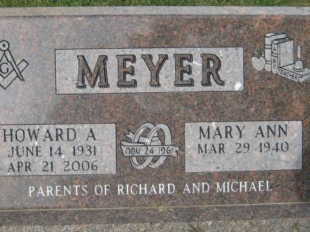 MEYER, HOWARD A. - Pottawattamie County, Iowa | HOWARD A. MEYER