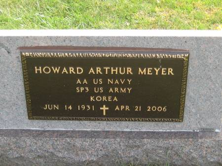 MEYER, HOWARD ARTHUR - Pottawattamie County, Iowa   HOWARD ARTHUR MEYER