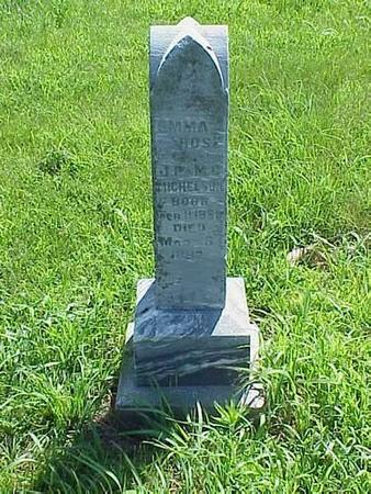 MICHELSON, HEADSTONE - Pottawattamie County, Iowa | HEADSTONE MICHELSON