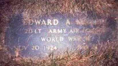 MILLER, EDWARD A. - Pottawattamie County, Iowa | EDWARD A. MILLER