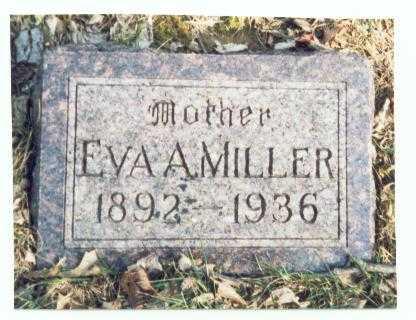 MILLER, EVA M. - Pottawattamie County, Iowa | EVA M. MILLER