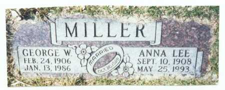 MILLER, ANNA LEE - Pottawattamie County, Iowa   ANNA LEE MILLER