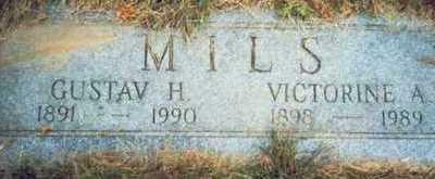 MILS, VICTORINE A. - Pottawattamie County, Iowa | VICTORINE A. MILS