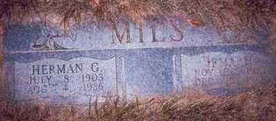 MILS, IRMA H. - Pottawattamie County, Iowa | IRMA H. MILS
