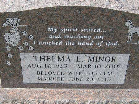 MINOR, THELMA L. - Pottawattamie County, Iowa | THELMA L. MINOR