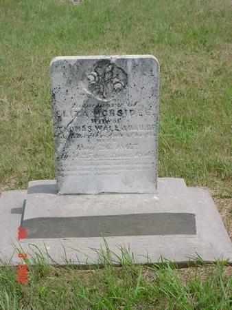 MONSIDEE, ELIZA - Pottawattamie County, Iowa | ELIZA MONSIDEE