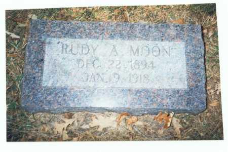 MOON, RUDY A. - Pottawattamie County, Iowa | RUDY A. MOON