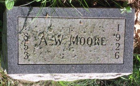 MOORE, A. W. - Pottawattamie County, Iowa | A. W. MOORE