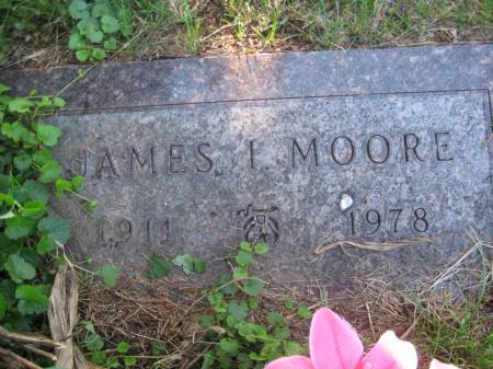 MOORE, JAMES I. - Pottawattamie County, Iowa   JAMES I. MOORE