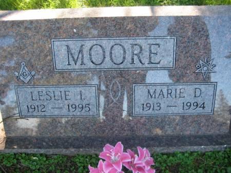MOORE, LESLIE I. - Pottawattamie County, Iowa | LESLIE I. MOORE