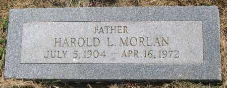 MORLAN, HAROLD L. - Pottawattamie County, Iowa | HAROLD L. MORLAN