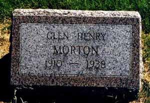 MORTON, GLEN HENRY - Pottawattamie County, Iowa | GLEN HENRY MORTON