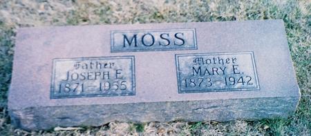 WOODS MOSS, MARY E. - Pottawattamie County, Iowa | MARY E. WOODS MOSS