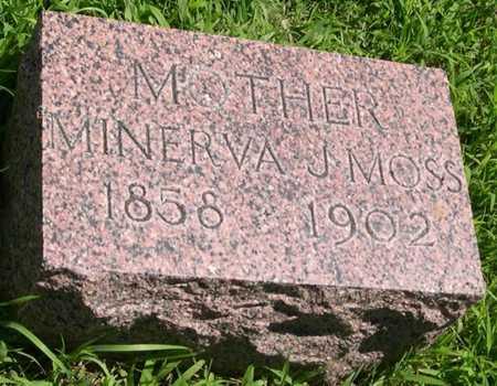 HOYT MOSS, MINERVA J. - Pottawattamie County, Iowa | MINERVA J. HOYT MOSS