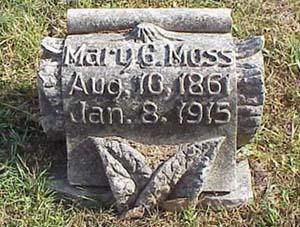 MOSS, MARY G - Pottawattamie County, Iowa | MARY G MOSS