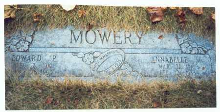 MOWERY, EDWARD PERRY SR. - Pottawattamie County, Iowa | EDWARD PERRY SR. MOWERY