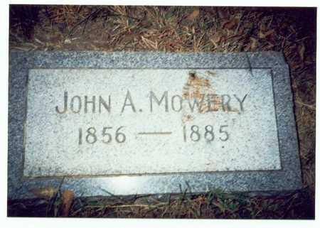 MOWERY, JOHN A. - Pottawattamie County, Iowa   JOHN A. MOWERY
