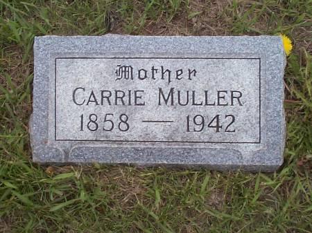MULLER, CARRIE - Pottawattamie County, Iowa | CARRIE MULLER