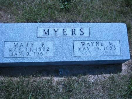 MYERS, WAYNE M. - Pottawattamie County, Iowa   WAYNE M. MYERS