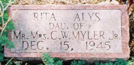 MYLER, RITA ALYS - Pottawattamie County, Iowa | RITA ALYS MYLER