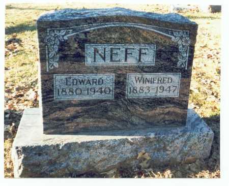 NEFF, EDWARD - Pottawattamie County, Iowa | EDWARD NEFF