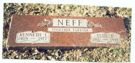 NELSON NEFF, ELSIE F. - Pottawattamie County, Iowa | ELSIE F. NELSON NEFF