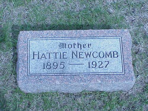 NEWCOMB, HATTIE - Pottawattamie County, Iowa | HATTIE NEWCOMB