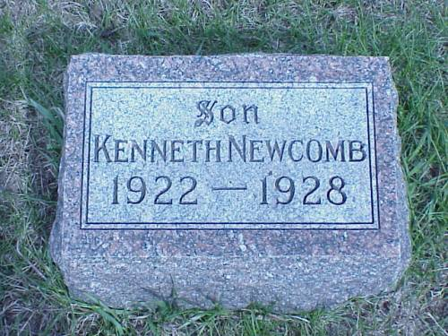 NEWCOMB, KENNETH - Pottawattamie County, Iowa | KENNETH NEWCOMB