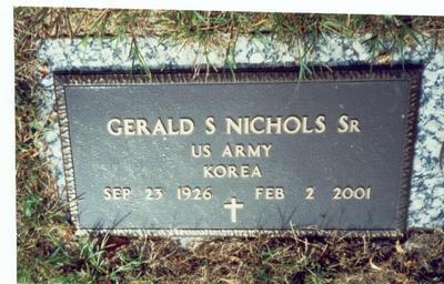 NICHOLS, GERALD S. SR. - Pottawattamie County, Iowa | GERALD S. SR. NICHOLS