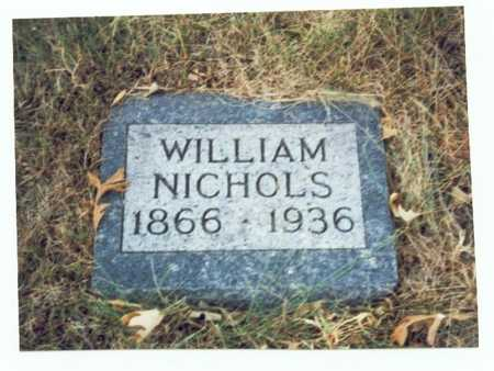 NICHOLS, WILLIAM - Pottawattamie County, Iowa   WILLIAM NICHOLS