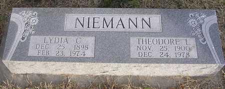 NIEMANN, THEODORE - Pottawattamie County, Iowa | THEODORE NIEMANN