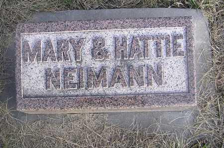 NIEMANN, HATTIE - Pottawattamie County, Iowa | HATTIE NIEMANN