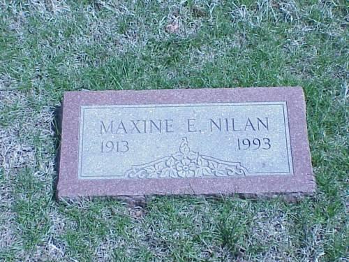 NILAN, MAXINE E. - Pottawattamie County, Iowa | MAXINE E. NILAN