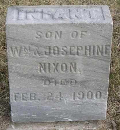 NIXON, INFANT - Pottawattamie County, Iowa   INFANT NIXON