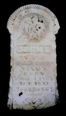NIXON, JOHN S. - Pottawattamie County, Iowa   JOHN S. NIXON