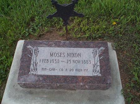 NIXON, MOSES - Pottawattamie County, Iowa | MOSES NIXON