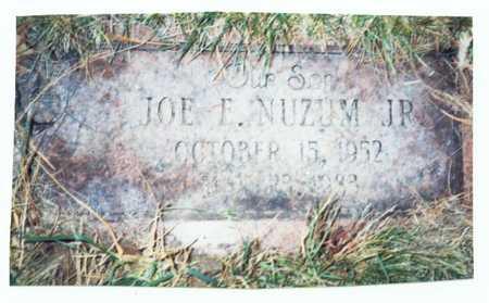 NUZUM, JOE E. JR. - Pottawattamie County, Iowa | JOE E. JR. NUZUM