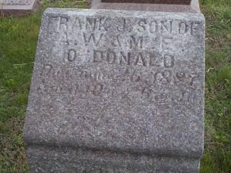 O'DONALD, FRANK J. - Pottawattamie County, Iowa | FRANK J. O'DONALD