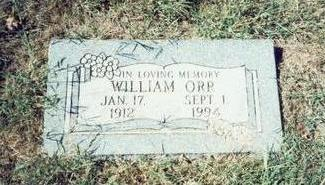 ORR, WILLIAM - Pottawattamie County, Iowa | WILLIAM ORR