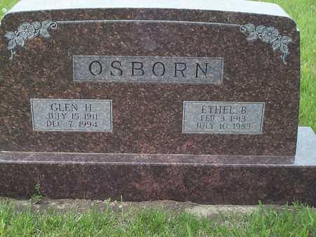 OSBORN, ETHEL B. - Pottawattamie County, Iowa   ETHEL B. OSBORN