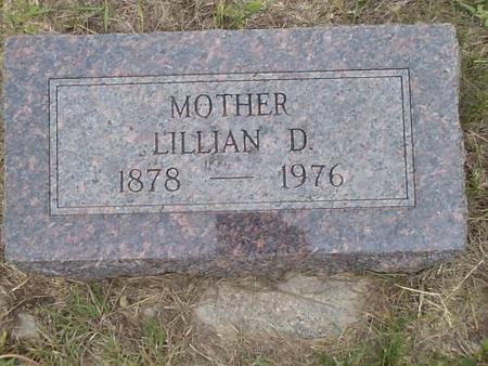 OSBORN, LILLIAN D. - Pottawattamie County, Iowa   LILLIAN D. OSBORN