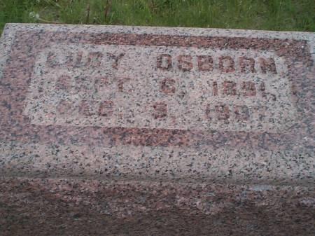 OSBORN, LUCY - Pottawattamie County, Iowa | LUCY OSBORN